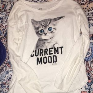 Cute kitty shirt🥰